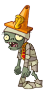File:HD Mummy Conehead Zombie.png