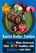 Barrel Roller Zombie premium pack