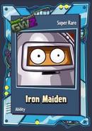 Pvzgw2 iron maiden