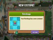 Getting Rotobaga Costume