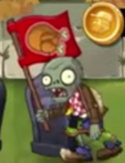 Fall Flag Zombie