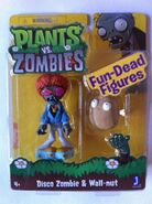 Wall-nut and Disco Zombie figures