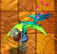 Charmed Pterodactyl Carrying Zombie