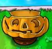 Flower pot pumpkin
