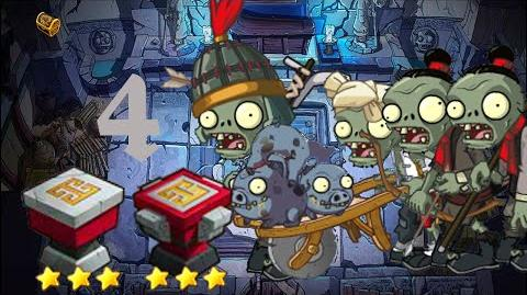 PvZ Online - Adventure Mode - Mausoleum Advent 4