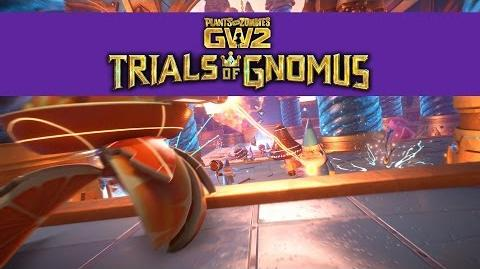 Trials of Gnomus Gameplay Trailer Plants vs