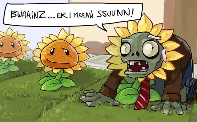 File:Plants vs zombies hipster zombie by michellepow-d7eg7jn.jpg