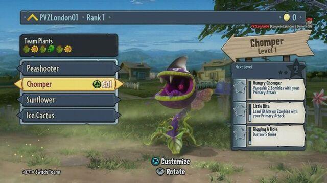 File:Plants vs Zombie Garden Warfare Character Select.jpg