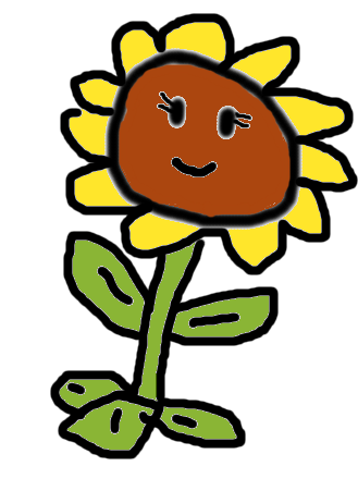 File:BADLY DRAWN SUNFLOWER BY LEO.png