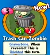 Receiving Trash Can Zombie