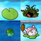 The Four Aquatic Plants