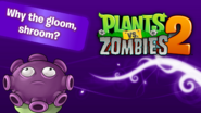 PvZ2Surprise WhytheGloomShroom WallpaperbyKh07