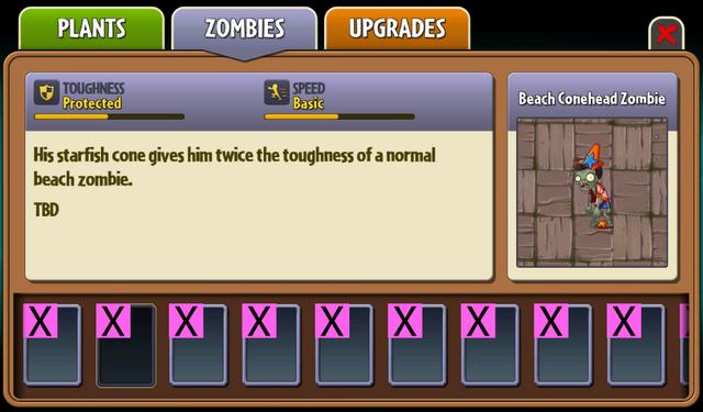 File:Beta Beach Conehead Zombie Almanac Entry.png