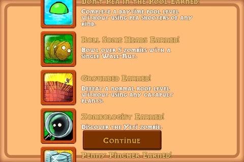 PvZ achievements