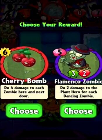 File:Choice between Cherry Bomb and Flamenco Zombie.jpeg