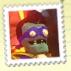 Super duper brainz stamp