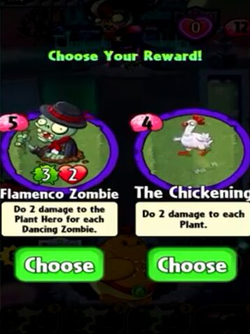 File:Choice between Flamenco Zombie and The Chickening.jpeg