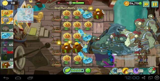 File:Dead Man's Booty Level 071 battle of Hypno-Shroom Plants vs Zombies 2-19-48-27-.JPG