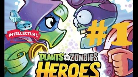 Plants vs Zombies Heroes Part 1 Starting Green Shadow