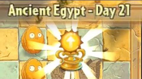 Ancient Egypt Day 21 - Plants vs Zombies 2 Its About Time