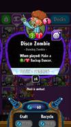 Disco Zombie stats