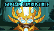 Captain Combustible Animated Trailer