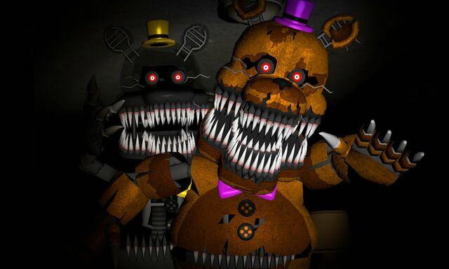 File:Fredbear and nightmare.jpg