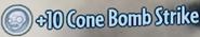 Cone Bomb Strike