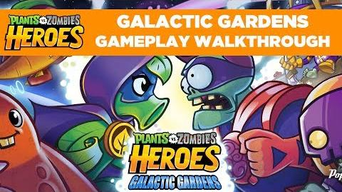 Galactic Gardens Gameplay Walkthrough Plants vs