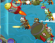 Rocket Zombie Attacking