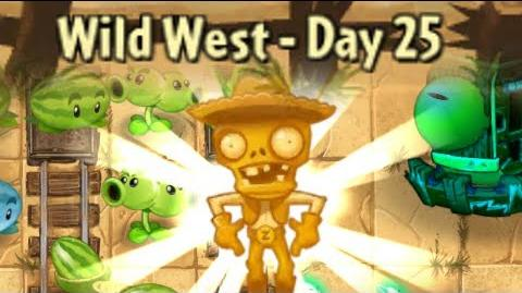 Wild West Day 25 - Zombot War Wagon - Plants vs Zombies 2 Its About Time