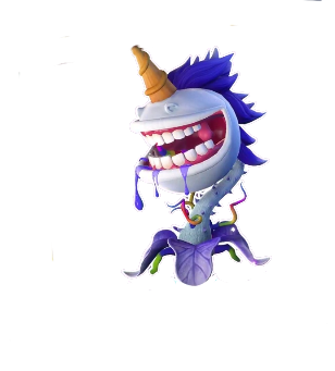 File:HD Stickerbook Unicorn Chomper.png