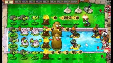 Plants vs Zombies Last Stand (a effective strategy)