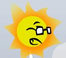 Cool sun head
