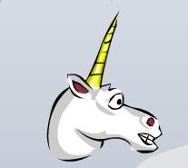 Head unicorn