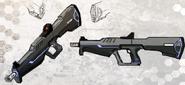 Drong Assault Rifle Concept Art