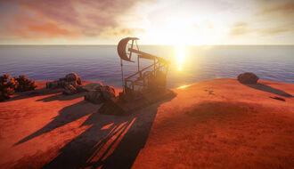 Oil derrick screenshot