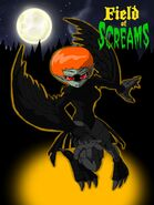 Field of Screams - Zoey the Crow