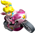 Princess Peach Artwork - Mario Kart Wii.png