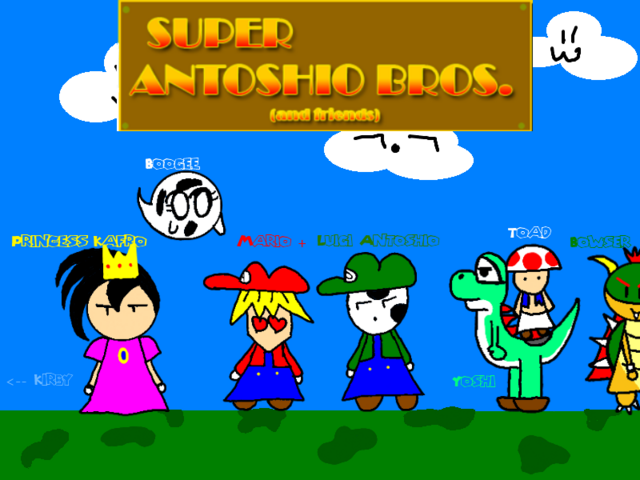File:Super Antoshio Bros Group.png
