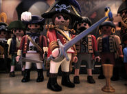 Captain bart and his pirates