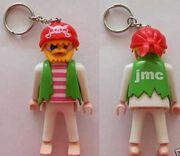 Jmc pirate keyring