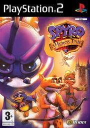 Spyro A Hero's Tail European Cover Art