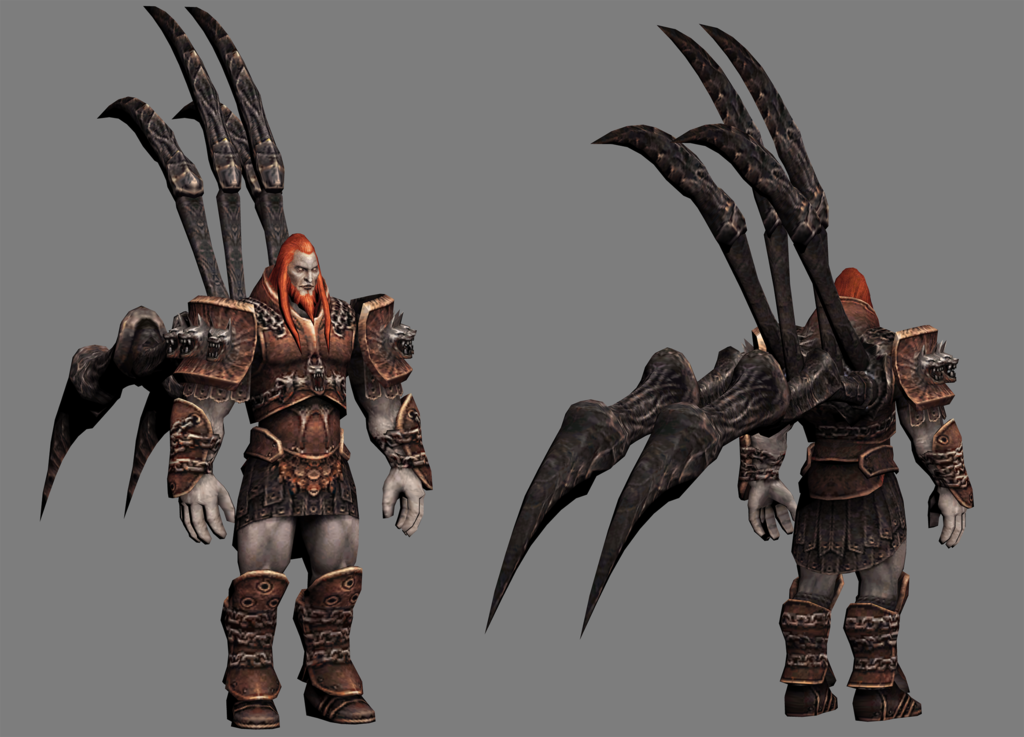 image ares 3d model god of war by hacker7utdd8ksijypng