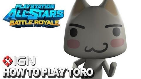 How to Use Toro in PlayStation All-Stars Battle Royale