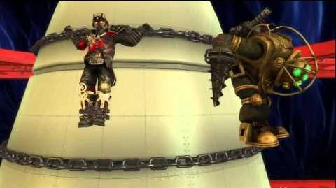 Playstation All-Stars Battle Royale Heihachi shoots everyone into space-1