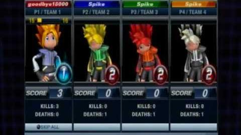 Playstation AllStars Battle Royale - Spikes Colors (Preorder Costume)