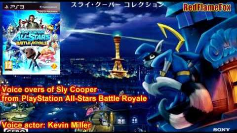 PlayStation All-Stars Battle Royale Sly Cooper Voice Overs