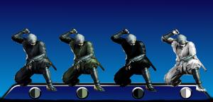 Shadow Assassin Rikimaru Color Palletes