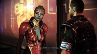 Mass Effect 3 Citadel DLC Samara Romance (MaleShep)